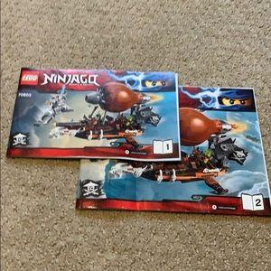 Lego Ninjago Instructions Manuals for set 70603